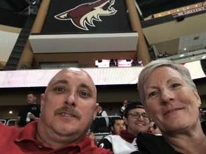 Keith attended Arizona Coyotes vs. Minnesota Wild - NHL ** Military Appreciation Night ** on Nov 7th 2019 via VetTix
