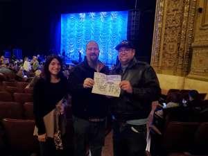 Steven attended Trisha Yearwood on Nov 7th 2019 via VetTix
