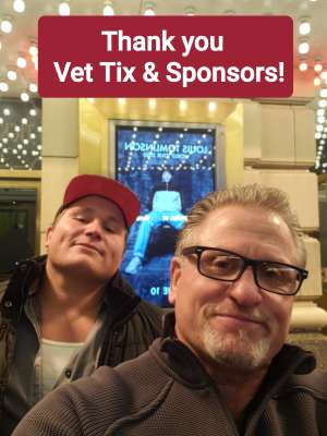 James  attended Trisha Yearwood on Nov 7th 2019 via VetTix