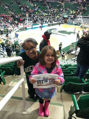 Click To Read More Feedback from Michigan State Spartans vs. Nebraska Cornhuskers - NCAA Women's Basketball