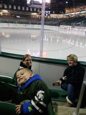 Brandon attended Michigan State Spartans vs. Arizona State - NCAA Men's Ice Hockey on Dec 14th 2019 via VetTix