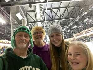 Robert attended Michigan State Spartans vs. Arizona State - NCAA Men's Ice Hockey on Dec 14th 2019 via VetTix
