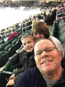 Gail attended Michigan State Spartans vs. Arizona State - NCAA Men's Ice Hockey on Dec 14th 2019 via VetTix
