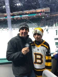 Michael attended Michigan State Spartans vs. Arizona State - NCAA Men's Ice Hockey on Dec 14th 2019 via VetTix