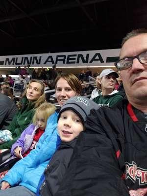 Harold attended Michigan State Spartans vs. Arizona State - NCAA Men's Ice Hockey on Dec 14th 2019 via VetTix