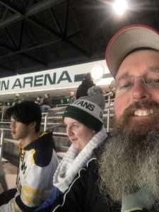 Mark attended Michigan State Spartans vs. Arizona State - NCAA Men's Ice Hockey on Dec 14th 2019 via VetTix