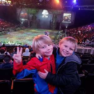 Collin attended Jurassic World Live Tour on Nov 9th 2019 via VetTix