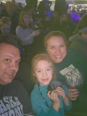 Terrence attended Jurassic World Live Tour on Nov 9th 2019 via VetTix