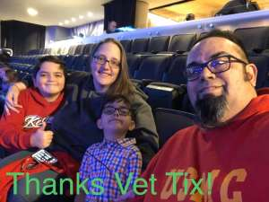 Ricardo attended Jurassic World Live Tour on Nov 9th 2019 via VetTix
