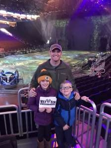 John attended Jurassic World Live Tour on Nov 9th 2019 via VetTix