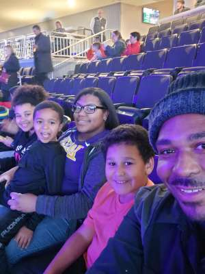 Terrance attended Jurassic World Live Tour on Nov 9th 2019 via VetTix
