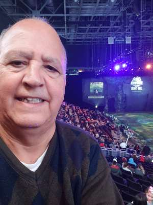 David attended Jurassic World Live Tour on Nov 9th 2019 via VetTix