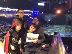 Tony attended Jurassic World Live Tour on Nov 9th 2019 via VetTix