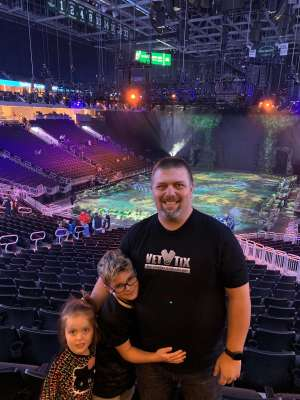 Richard attended Jurassic World Live Tour on Nov 9th 2019 via VetTix