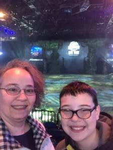 Chad attended Jurassic World Live Tour on Nov 9th 2019 via VetTix