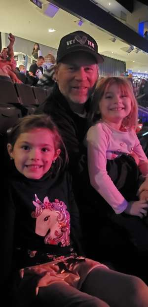 Matthew attended Jurassic World Live Tour on Nov 9th 2019 via VetTix