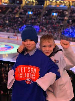 VIKTORIYA attended New York Islanders vs. Ottawa Senators - NHL on Nov 5th 2019 via VetTix