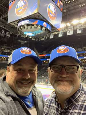 James attended New York Islanders vs. Ottawa Senators - NHL on Nov 5th 2019 via VetTix
