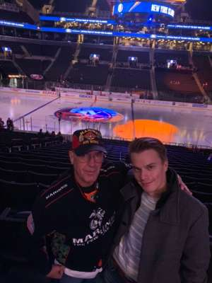 Louis attended New York Islanders vs. Ottawa Senators - NHL on Nov 5th 2019 via VetTix