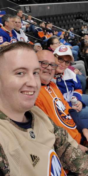 Larry attended New York Islanders vs. Ottawa Senators - NHL on Nov 5th 2019 via VetTix