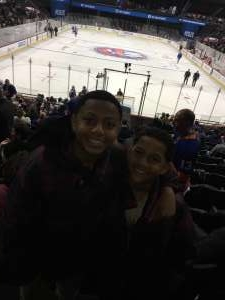Yasmene attended New York Islanders vs. Ottawa Senators - NHL on Nov 5th 2019 via VetTix