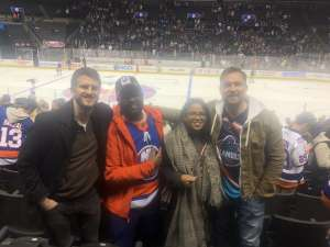 JASON attended New York Islanders vs. Ottawa Senators - NHL on Nov 5th 2019 via VetTix