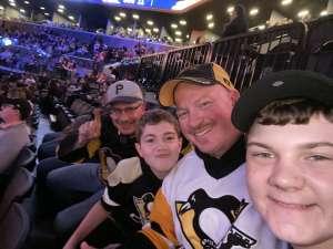 Seath attended New York Islanders vs. Pittsburgh Penguins - NHL on Nov 7th 2019 via VetTix