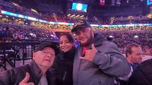 Nelson attended New York Islanders vs. Pittsburgh Penguins - NHL on Nov 7th 2019 via VetTix