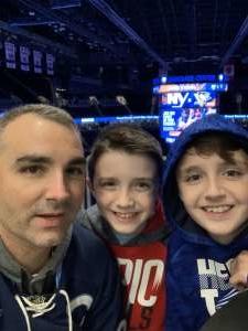 Tony attended New York Islanders vs. Pittsburgh Penguins - NHL on Nov 7th 2019 via VetTix