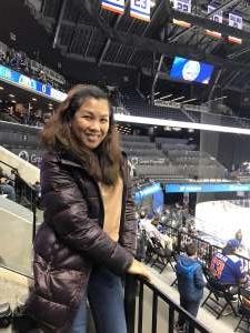 Mariefel attended New York Islanders vs. Pittsburgh Penguins - NHL on Nov 7th 2019 via VetTix