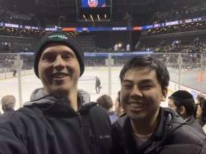 Mikael attended New York Islanders vs. Pittsburgh Penguins - NHL on Nov 7th 2019 via VetTix