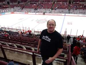 David attended Ohio State Buckeyes vs. Michigan State University - NCAA Hockey on Nov 30th 2019 via VetTix