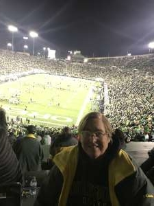 Carol attended University of Oregon Ducks vs. University of Arizona Wildcats - NCAA Football on Nov 16th 2019 via VetTix