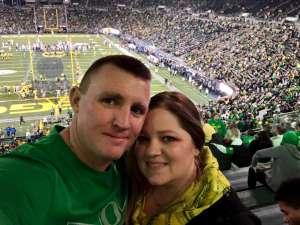 Jason attended University of Oregon Ducks vs. University of Arizona Wildcats - NCAA Football on Nov 16th 2019 via VetTix