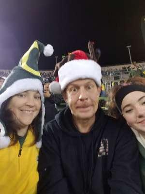 Joseph attended University of Oregon Ducks vs. University of Arizona Wildcats - NCAA Football on Nov 16th 2019 via VetTix