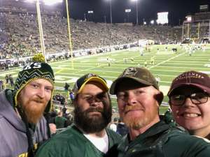 Kenny attended University of Oregon Ducks vs. University of Arizona Wildcats - NCAA Football on Nov 16th 2019 via VetTix