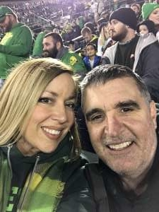 stormie attended University of Oregon Ducks vs. University of Arizona Wildcats - NCAA Football on Nov 16th 2019 via VetTix