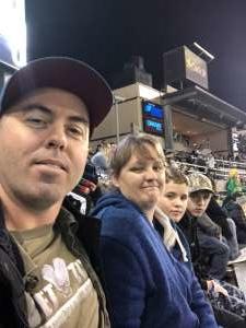 Ryan attended University of Oregon Ducks vs. University of Arizona Wildcats - NCAA Football on Nov 16th 2019 via VetTix