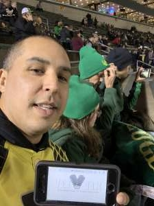 Joel attended University of Oregon Ducks vs. University of Arizona Wildcats - NCAA Football on Nov 16th 2019 via VetTix
