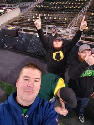 donald attended University of Oregon Ducks vs. University of Arizona Wildcats - NCAA Football on Nov 16th 2019 via VetTix