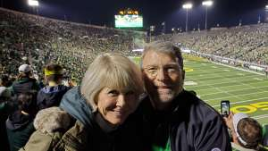 Philip  attended University of Oregon Ducks vs. University of Arizona Wildcats - NCAA Football on Nov 16th 2019 via VetTix