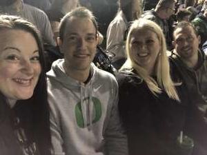 Kathryne attended University of Oregon Ducks vs. University of Arizona Wildcats - NCAA Football on Nov 16th 2019 via VetTix