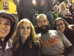 Kevin attended University of Oregon Ducks vs. University of Arizona Wildcats - NCAA Football on Nov 16th 2019 via VetTix