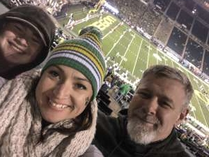 William attended University of Oregon Ducks vs. University of Arizona Wildcats - NCAA Football on Nov 16th 2019 via VetTix
