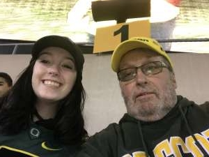 keith attended University of Oregon Ducks vs. University of Arizona Wildcats - NCAA Football on Nov 16th 2019 via VetTix