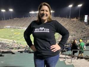Lynn attended University of Oregon Ducks vs. University of Arizona Wildcats - NCAA Football on Nov 16th 2019 via VetTix