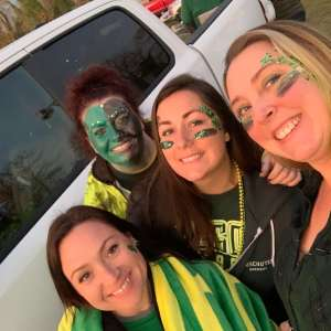 Amanda attended University of Oregon Ducks vs. University of Arizona Wildcats - NCAA Football on Nov 16th 2019 via VetTix