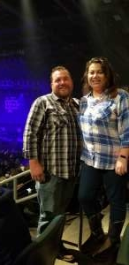 Chris attended Kase 101 Birthday Bash - Raised on Country Tour Ft. Chris Young on Nov 7th 2019 via VetTix