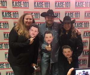 Edward attended Kase 101 Birthday Bash - Raised on Country Tour Ft. Chris Young on Nov 7th 2019 via VetTix