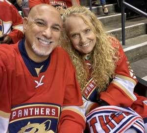 Robert attended Florida Panthers vs. Washington Capitals - NHL on Nov 7th 2019 via VetTix
